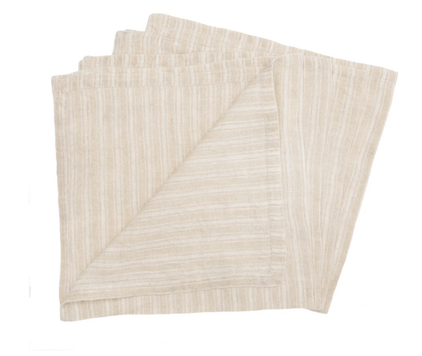 Boat Stripe Napkins-set of 4