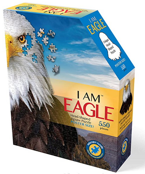 I Am Eagle Jigsaw Puzzle