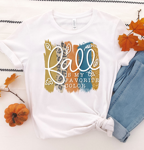 Fall Is My Favorite Color - Fall Graphic Tee