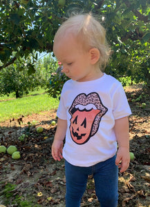 Pumpkin Lips - Fall Graphic Tee - Toddler & Youth Sizing