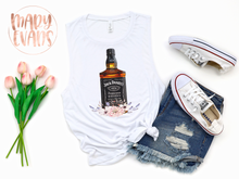 Load image into Gallery viewer, Jack Daniels Whiskey Shirt, Graphic Summer Tank - Mary Evans