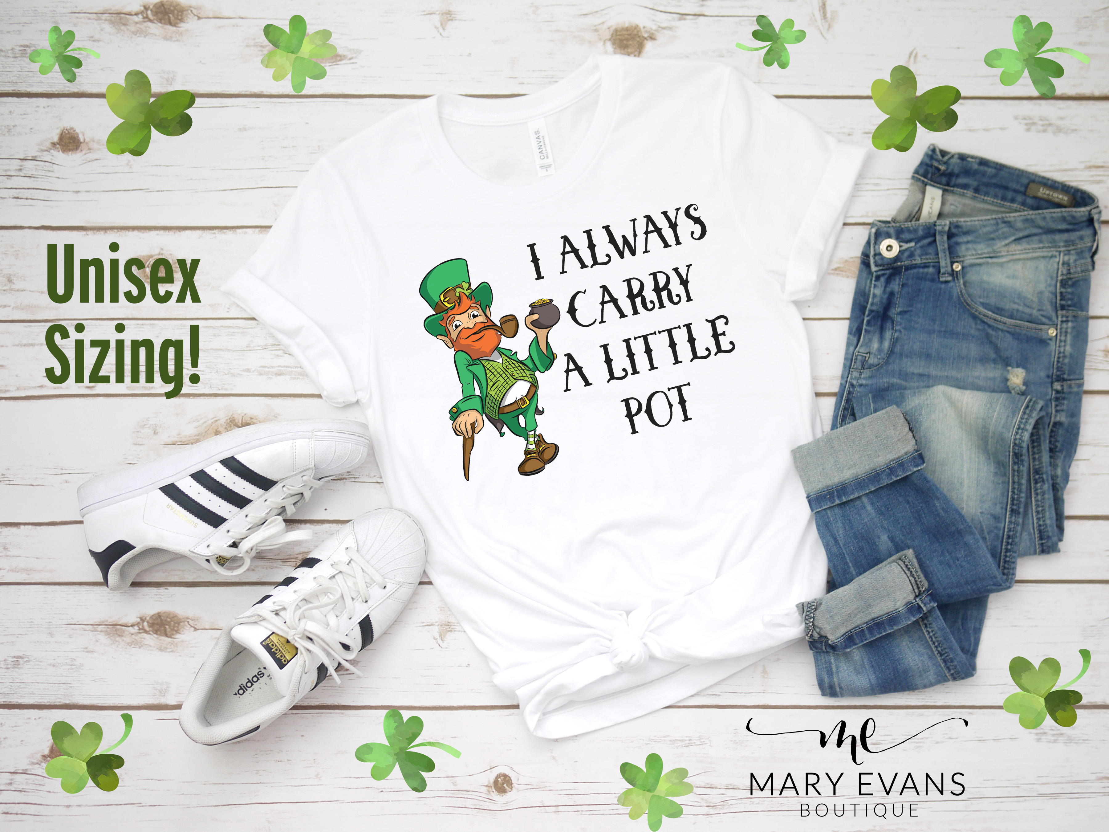Funny I Always Carry a Little Pot St Patricks Day Shirt