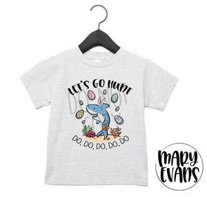 Let's Go Hunt Baby Shark Easter T-Shirt