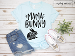 Mommy Bunny Baby Bunny Easter Shirt, Pregnancy Announcement