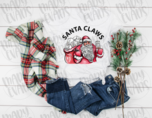 Load image into Gallery viewer, Santa Claws Shirt - Funny Christmas Unisex Shirt - Mary Evans