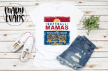 Softball Mamas & Sunflower Seeds Always Salty - Graphic Tee