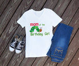 The Very Hungry Caterpillar Mom of the Birthday Girl or Boy Shirt