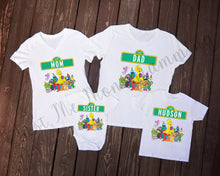 Load image into Gallery viewer, Sesame Street Family Birthday Shirts - Mary Evans