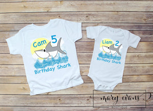 Baby Shark Birthday - Mary Evans