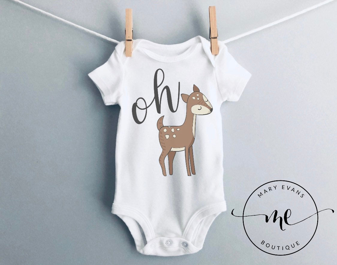 Oh Deer Woodland Bodysuit