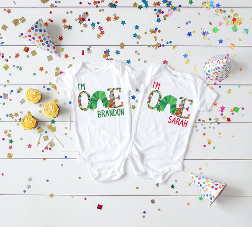 The Very Hungry Caterpillar First Birthday Shirt - Mary Evans
