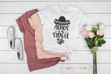 Load image into Gallery viewer, Adios to the Single Life Engagement T-Shirt - Mary Evans