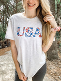 Tie-Dye USA Shirt  - Graphic Tee