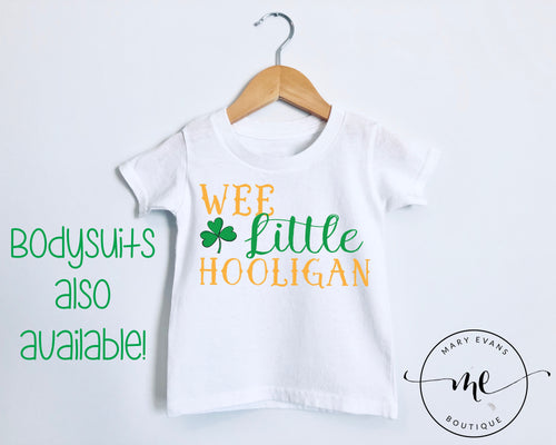 Wee Little Hooligan - St Patricks Day - Mary Evans