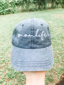 #momlife - embroidered hat