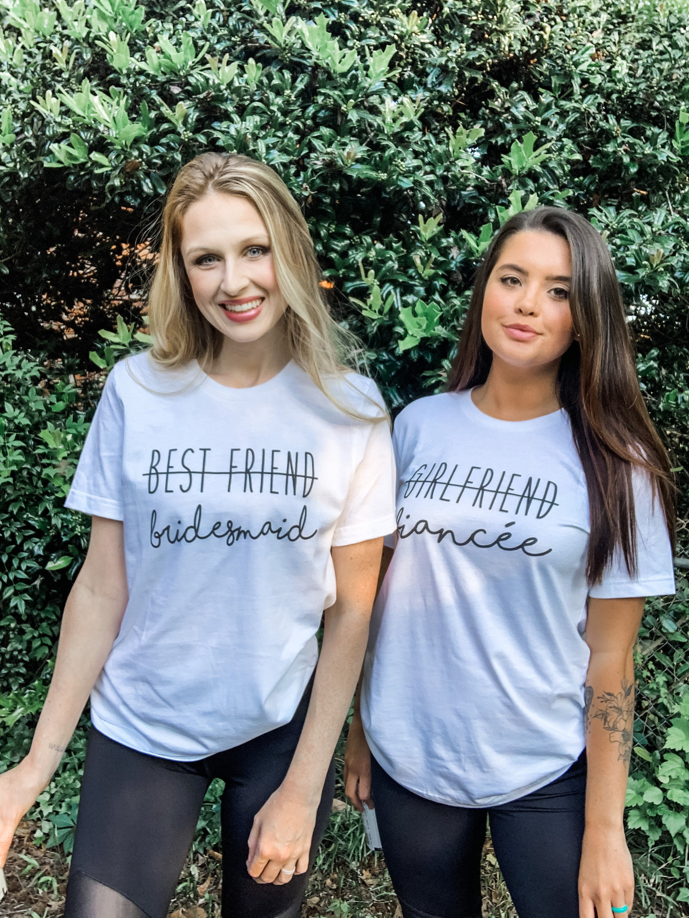 Best Friend to Bridesmaid - Graphic Tee