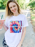 Retro Tie Dye Summer - Graphic Tee