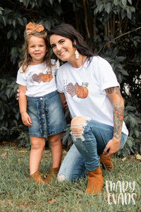 Peace, Love, & Fall - Fall Graphic Tee