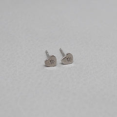 Ngb Jewels - Small Boho Heart Earrings