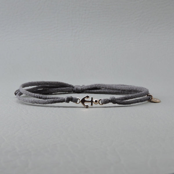 Anchor Elastic Bracelet | Rose Gold