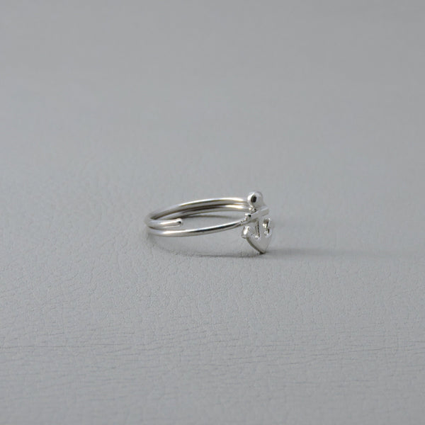 Anchor Ring | Silver