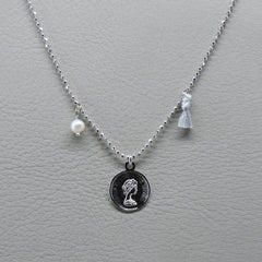 Ngb Jewels - Coin Short Necklace