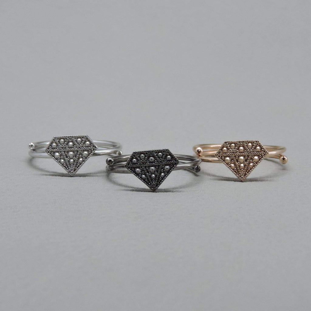 Ngb Jewels - Cool Diamonds Ring