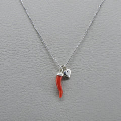 Ngb Jewels - Coral Horn Short Necklace