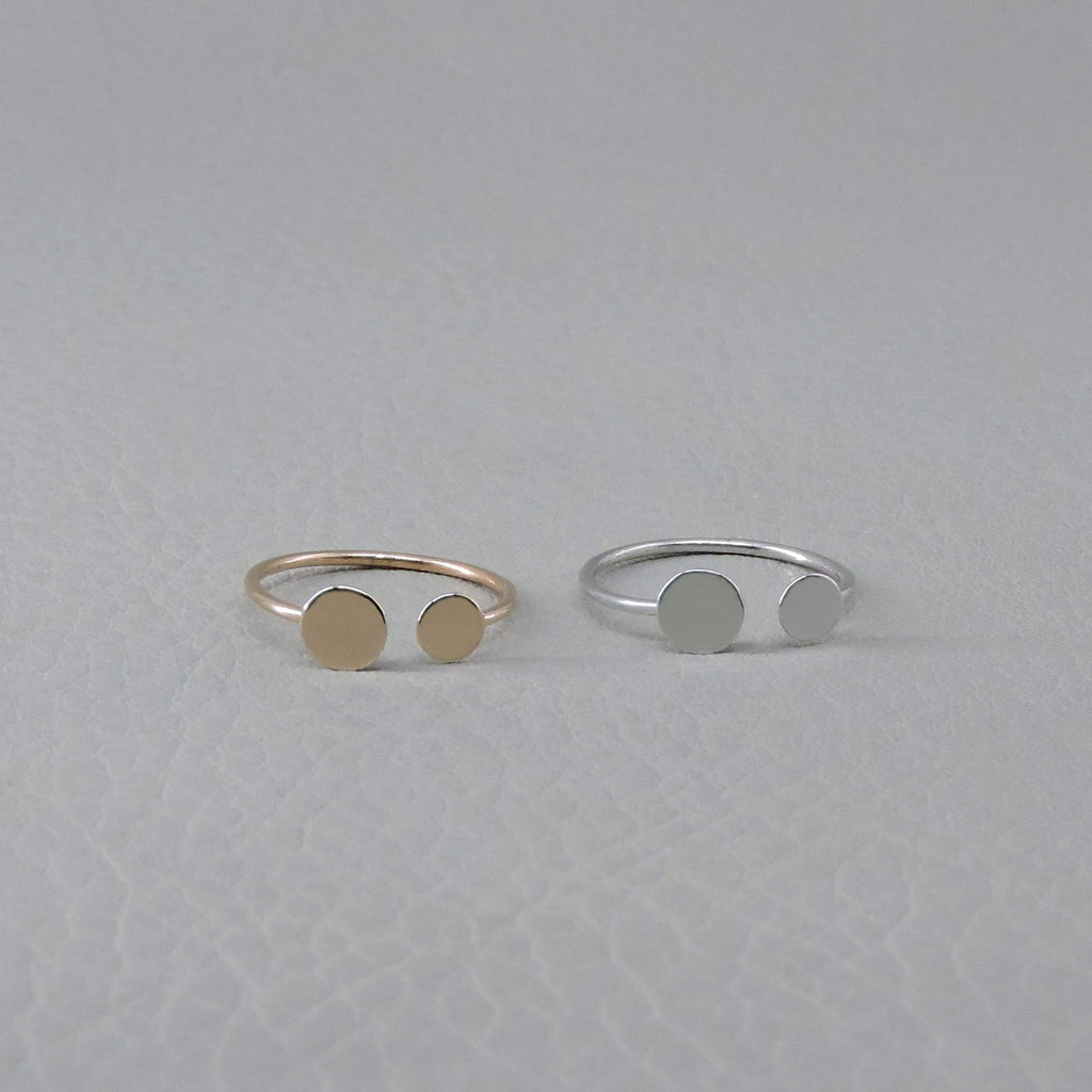 Ngb Jewels - Double Circle Ring