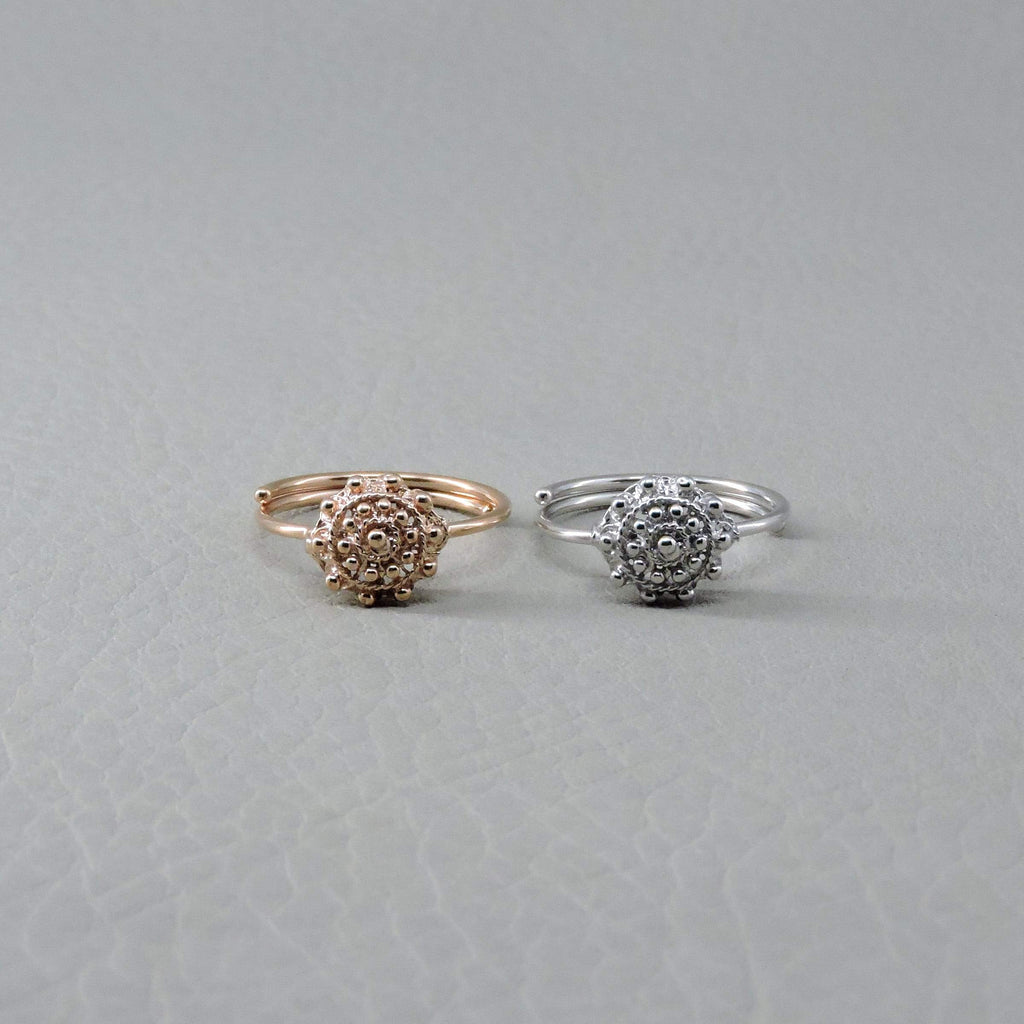 Ngb Jewels - El Botòn Adjustable Ring