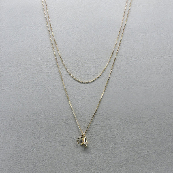 Good Luck Necklace | Yellow Gold