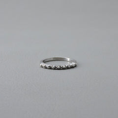 Ngb Jewels - Multiple Silver Stones Ring
