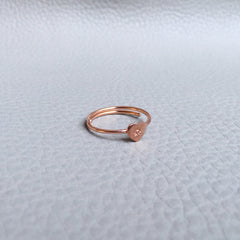 Ngb Jewels - Small Boho Heart Ring