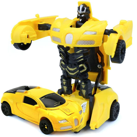Mini Morphing Robotic Toy Car