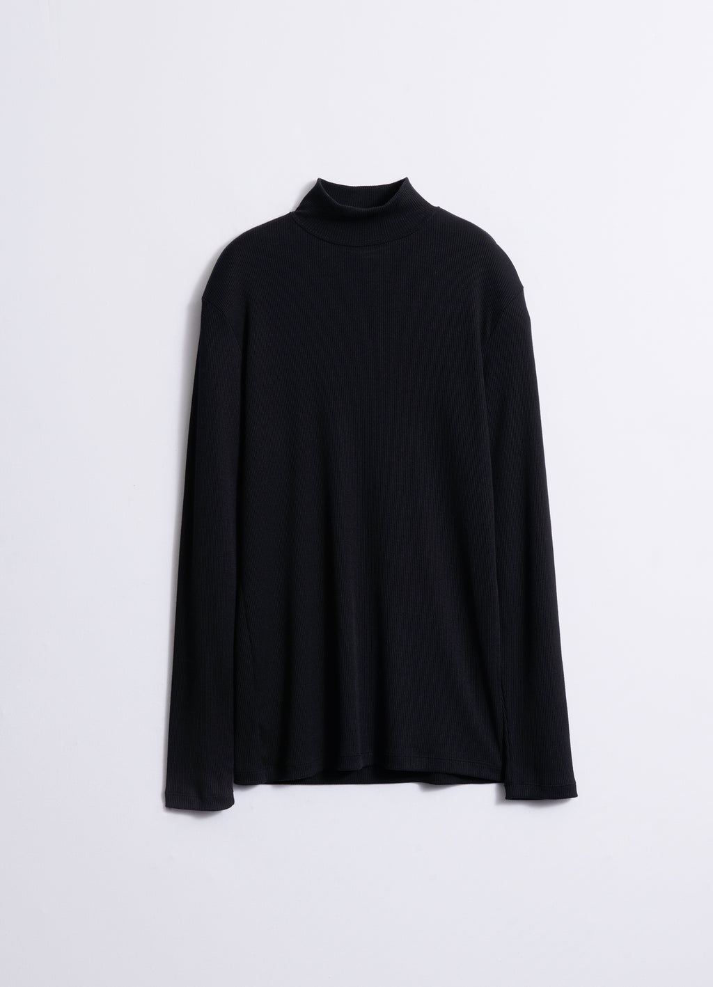 RIB MOCK NECK TOP
