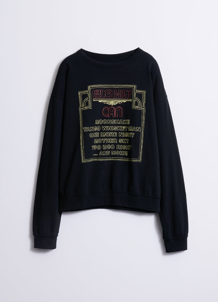 BIG HIT PRINTED SWEATSHIRT