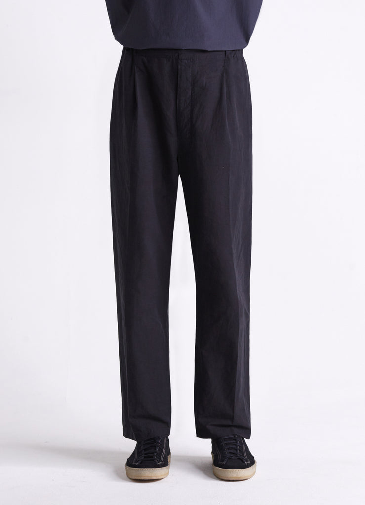 PLEATED DRAWSTRING PANTS