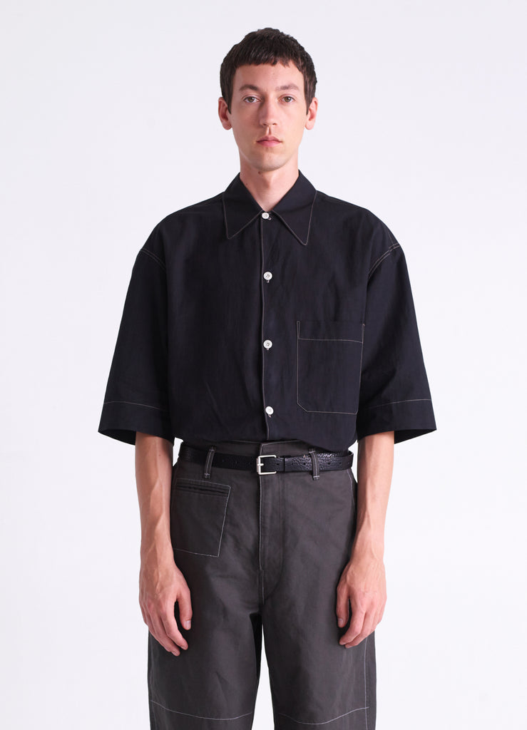 CONVERTIBLE COLLAR SHIRT