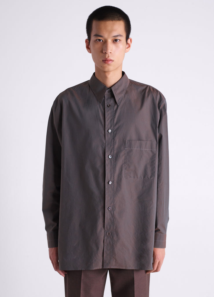 STRAIGHT COLLAR SHIRT