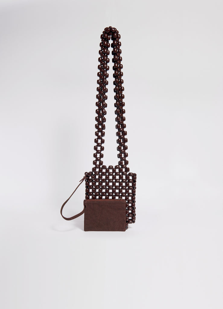 WOOD PEARL BAG