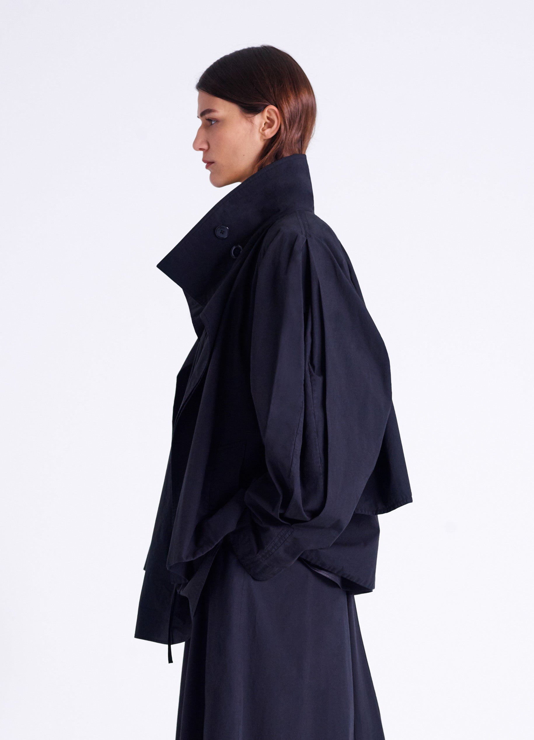 HIGH COLLAR BLOUSON