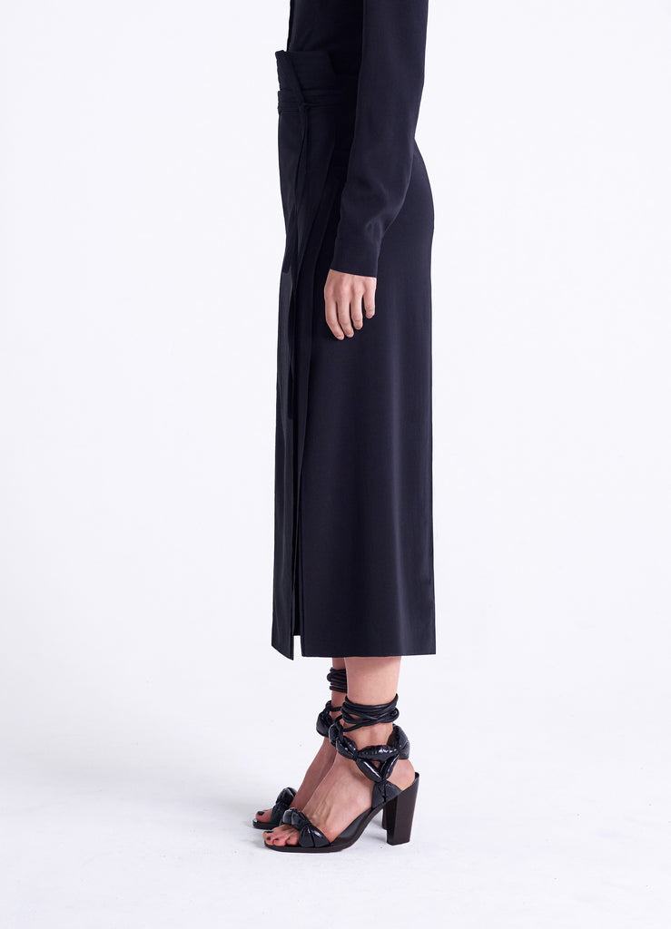 WRAPOVER SKIRT
