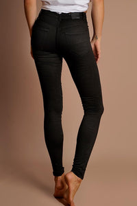 Refuge - Onyx High Waist Gelato Legs - Black