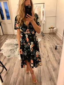 Blossom - Charli Midi Wrap Dress