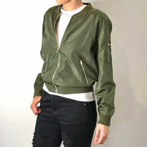 Miracle - Classic Bomber Jacket - Dilux Designs