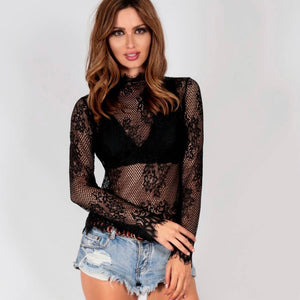 Spicy Sugar - Harmony Lace Top