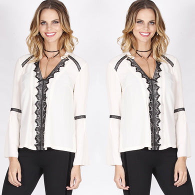 Spicy Sugar - Bella Blouse - Dilux Designs