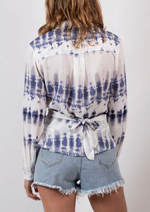 Spicy Sugar - Tie Dye Wrap Top