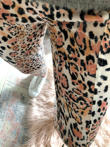 Silver Wishes - Sports Luxe Animal Print Joggers