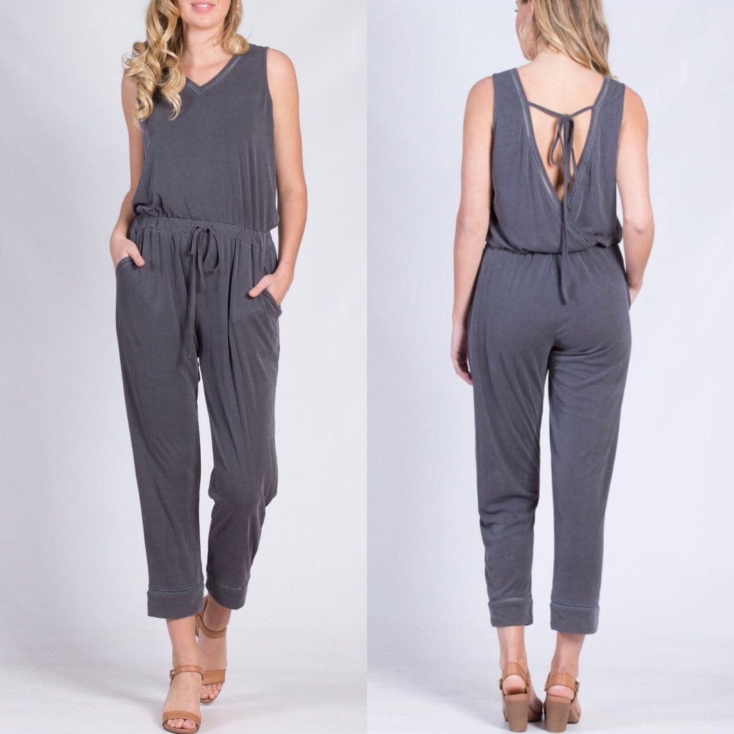 Spicy Sugar - Ebony Jumpsuit